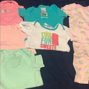6-9 M baby girl clothes